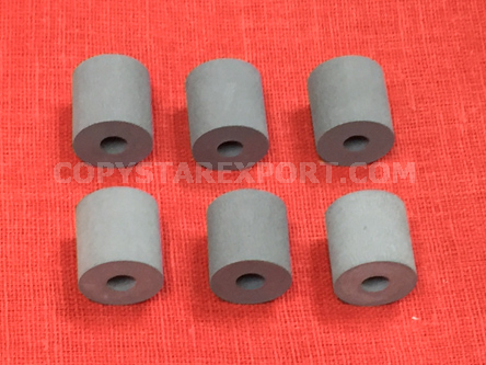 ROLLER, PAPER DELIVERY RUBBER ONLY (SET OF 6 PCS)
