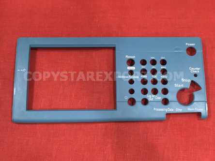 COVER, CONTROL PANEL