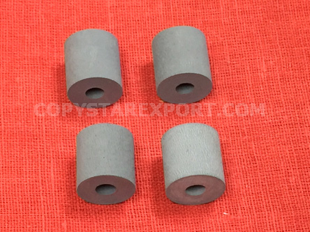 ROLLER, PAPER DELIVERY RUBBER ONLY (SET OF 4 PCS)