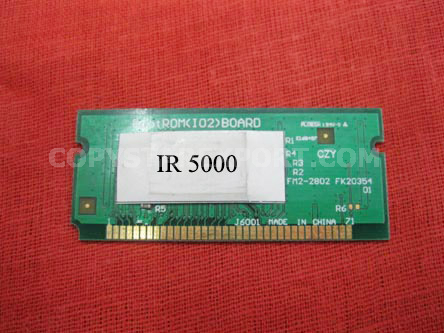 FLASH MEMORY PCB ASS'Y (BOOT RAM)