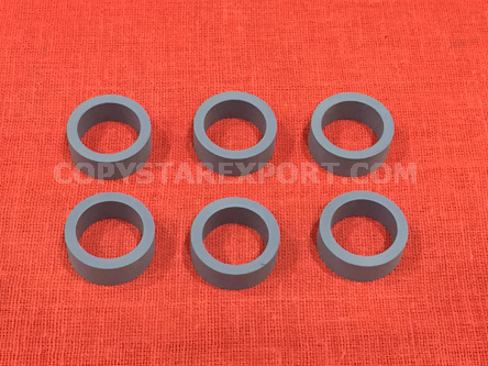 ROLLER, DELIVERY, OUTER RUBBER (SET OF 6PCS)