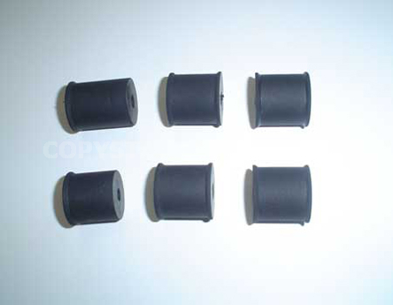 ROLLER, DELIVERY ONLY RUBBER (SET OF 6 PCS)