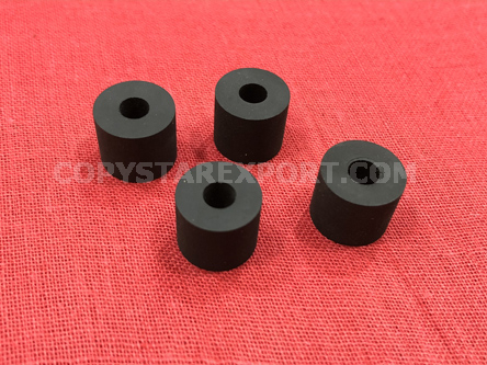 ROLLER, PAPER DELIVERY ONLY RUBBER (SET OF 4PCS)