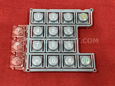 KEY TOP, NUMBER (FOR PANEL BUTTON SWITCH)